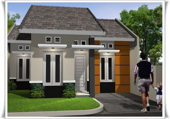 Desain Rumah Minimalis 1 Lantai Type 21