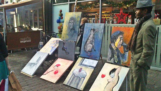 Bryan Bam Chisholm Art Galway Shop Street Pathological Gomez