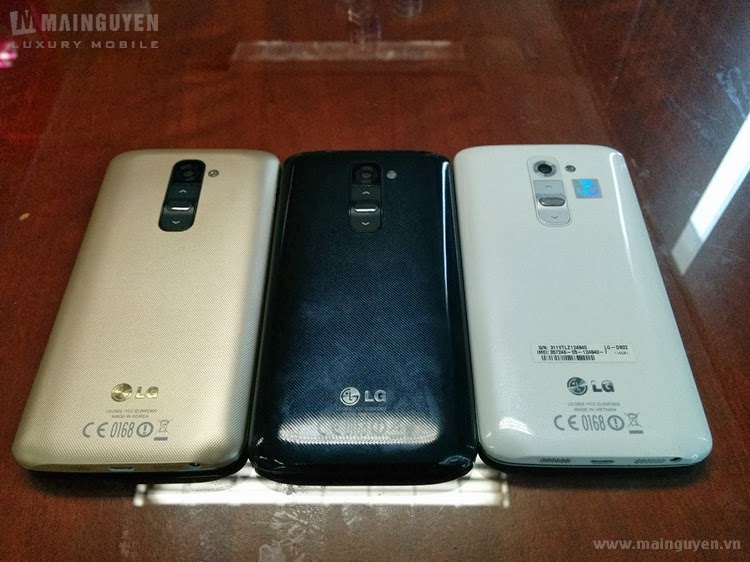LG G2 Golden first live pictures