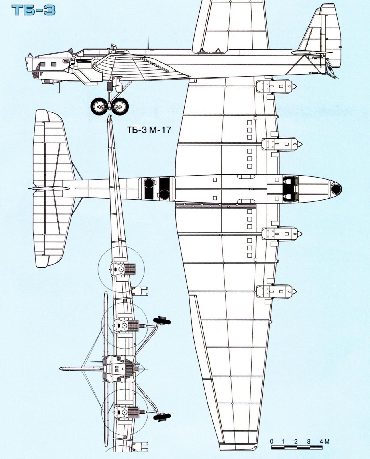 характеристики ТБ-3