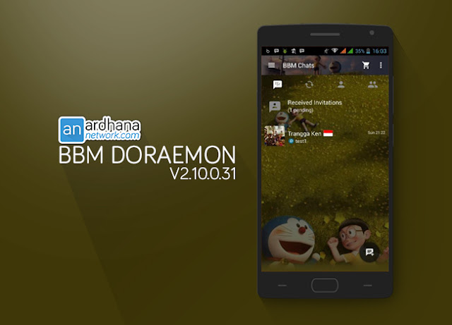 BBM Doraemon - Ardhana Network