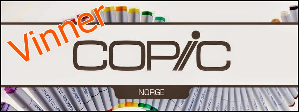 Winner and top 3 Copic Norge