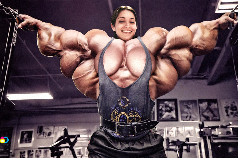 meg's muscle growth: august 2012, Muscles