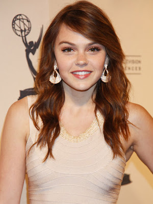 Aimee Teegarden Dangling Diamond Earrings