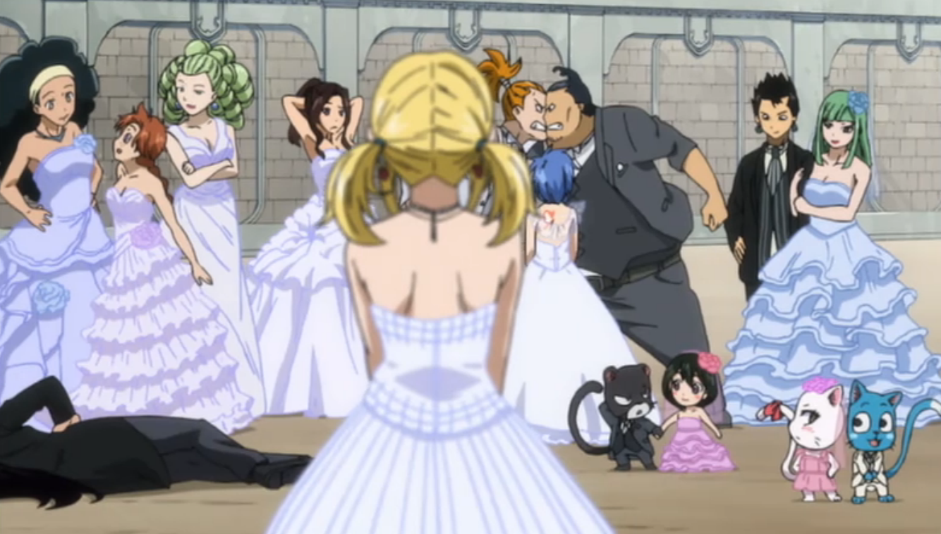 grains of anime fairy tail episode 163