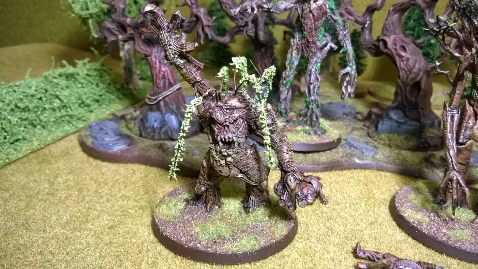 converted lotr ent warhammer fantasy treeman oop metal willow