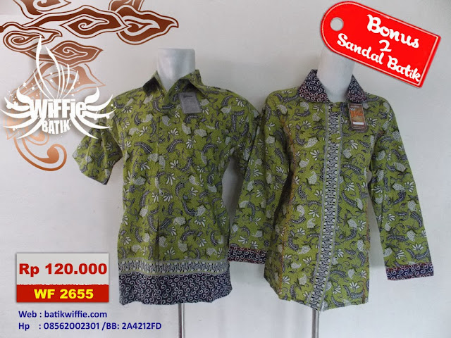 Batik Couple Warna Hijau