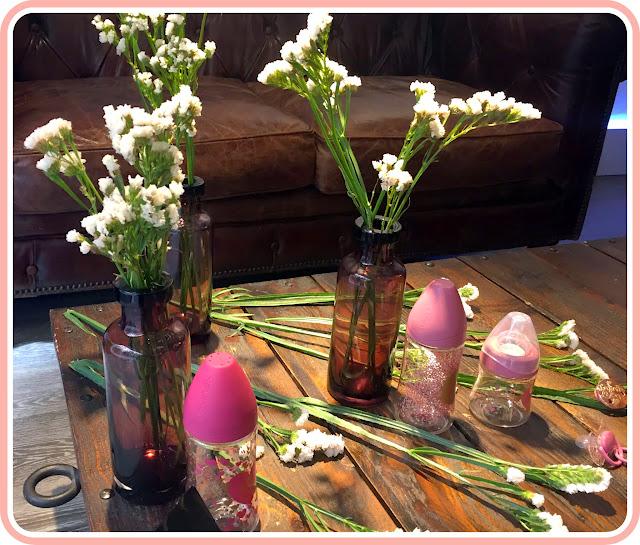Biberones rosas de la colección Haute Couture de Suavinex