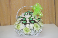 Chocolate Rose Bouquet Set Hantaran