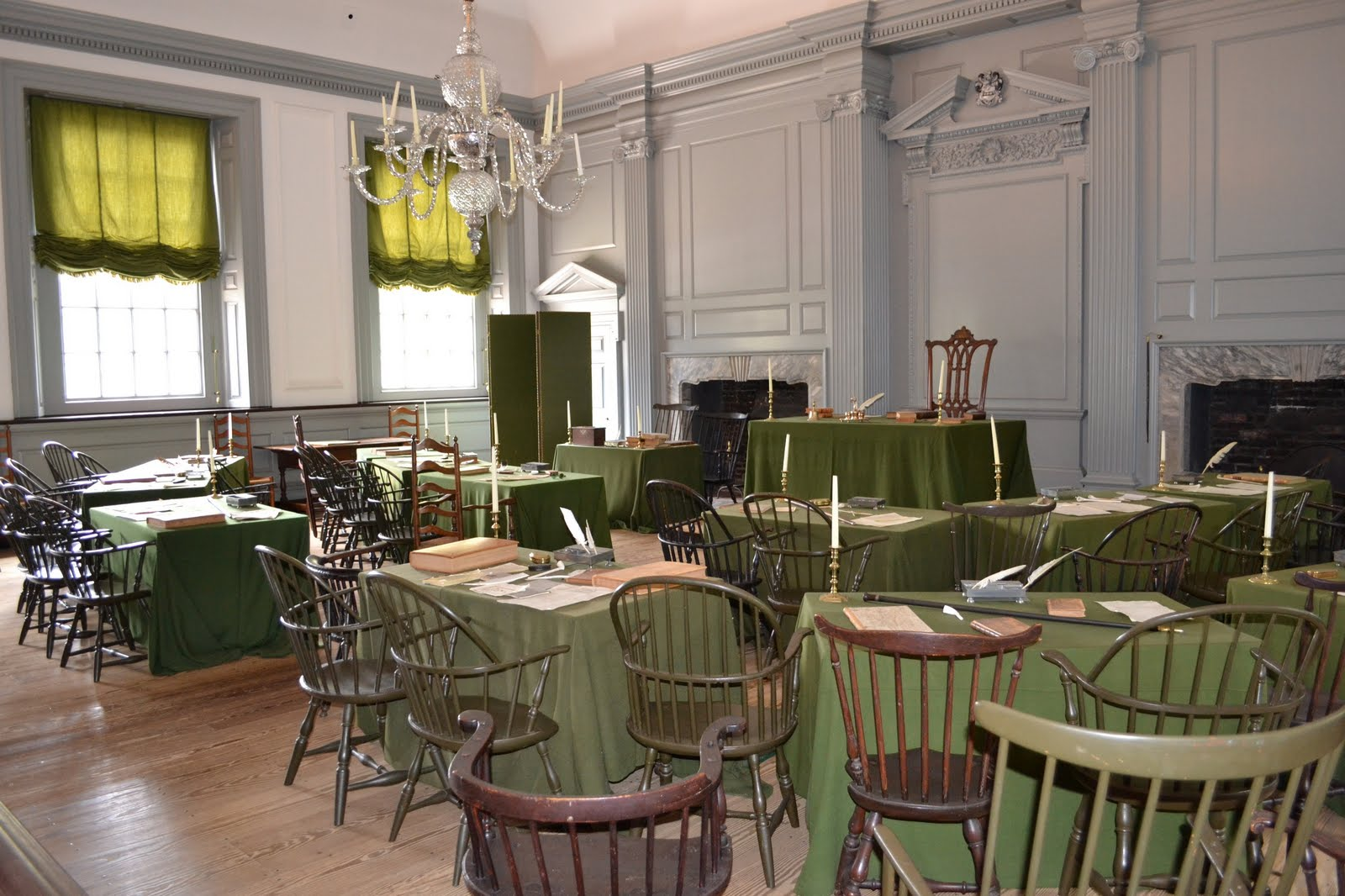 Rooms Inside Independence Hall