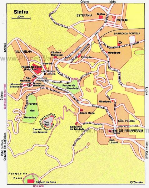 Sintra map