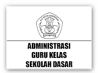 Administrasi Guru SD lengkap Terbaru 2016/2017
