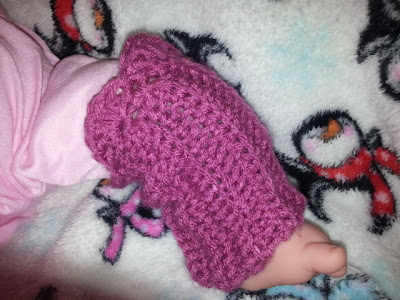 crochet toddler leg warmers