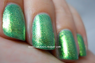 LuminousLacquer.com - Beautifully Disney Nail Polish - Wickedly Beautiful Princess Collection - Ocean Mist