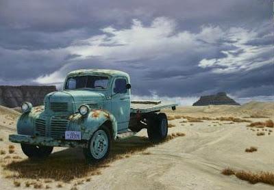 autos-antiguos-al-oleo
