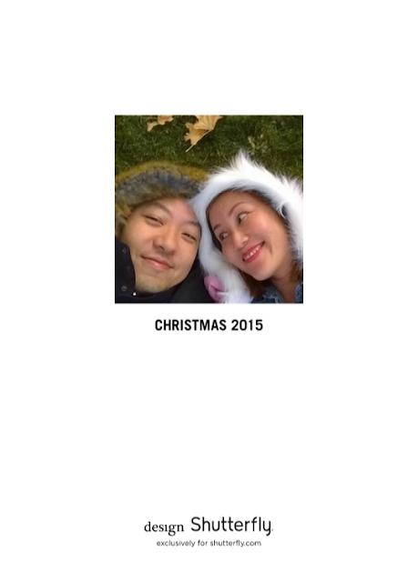 Family photo christmas card