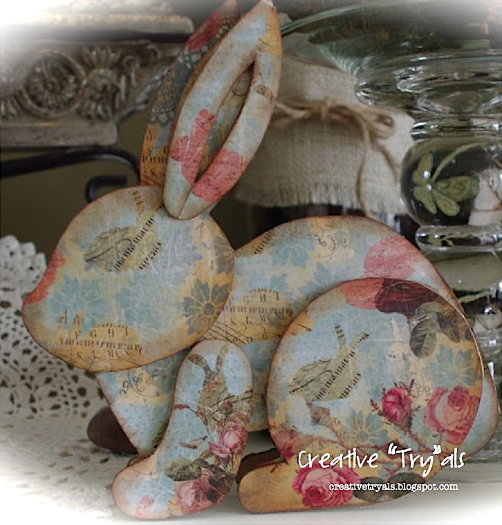 Creative Try Als Make Your Own Decoupage Cardboard