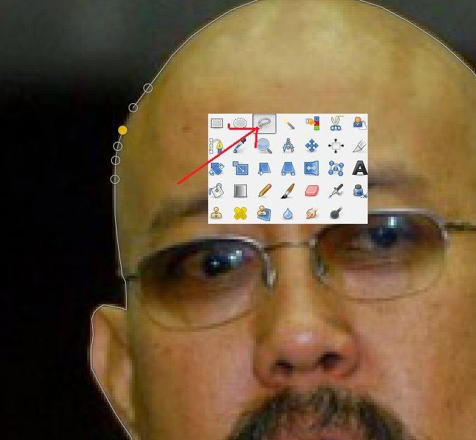 Cara mengganti kepala pada foto