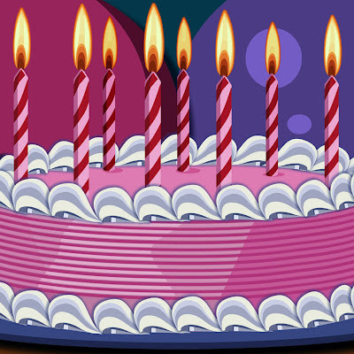 Coolest Birthday cake download free wallpapers for Apple iPad
