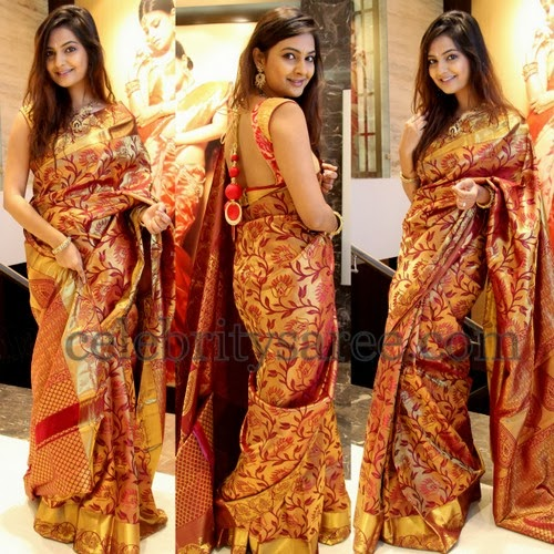 Neha Deshpande Bridal Saree