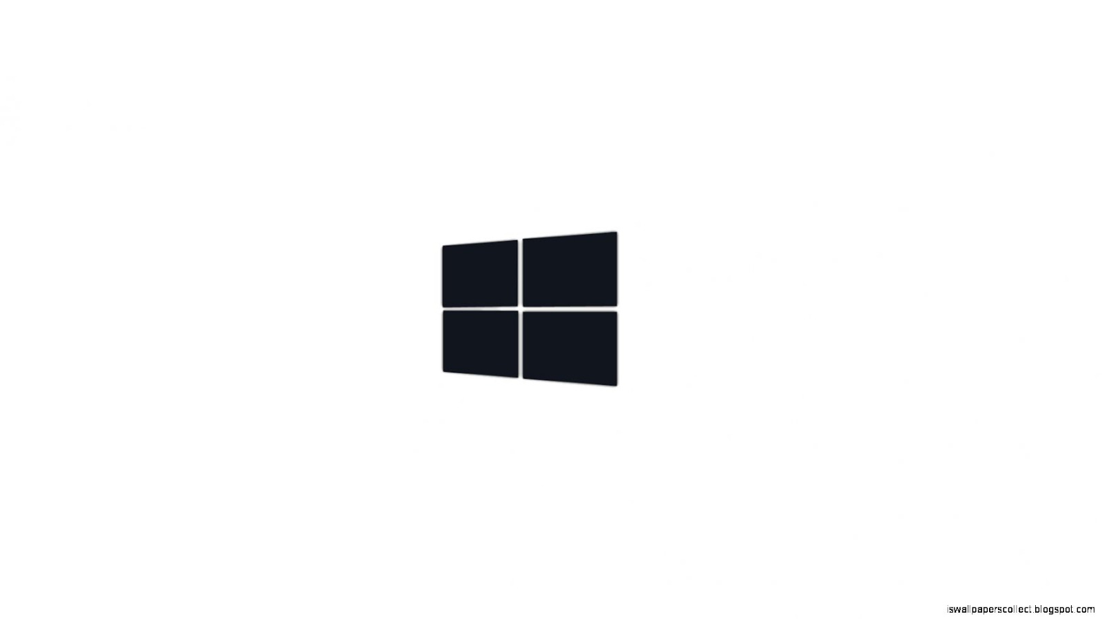 windows logo black white wallpapers collection