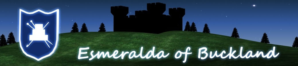 Esmeralda Of Buckland's liv i ord