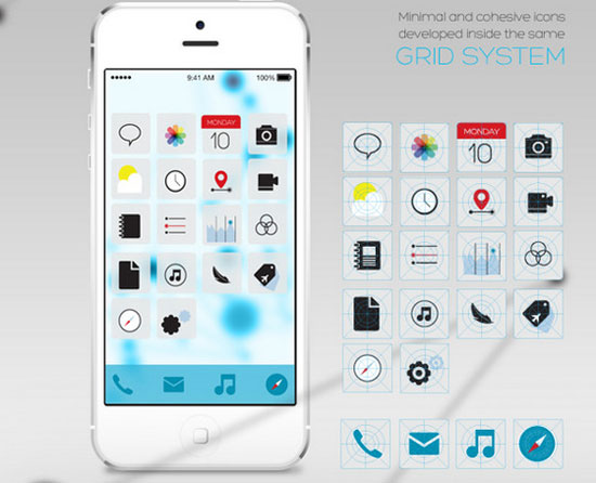 iOS 7 Redesign by Isis Marques