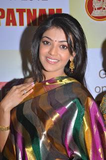 Kajal Agarwal Hot Latest Silk Saree Photos