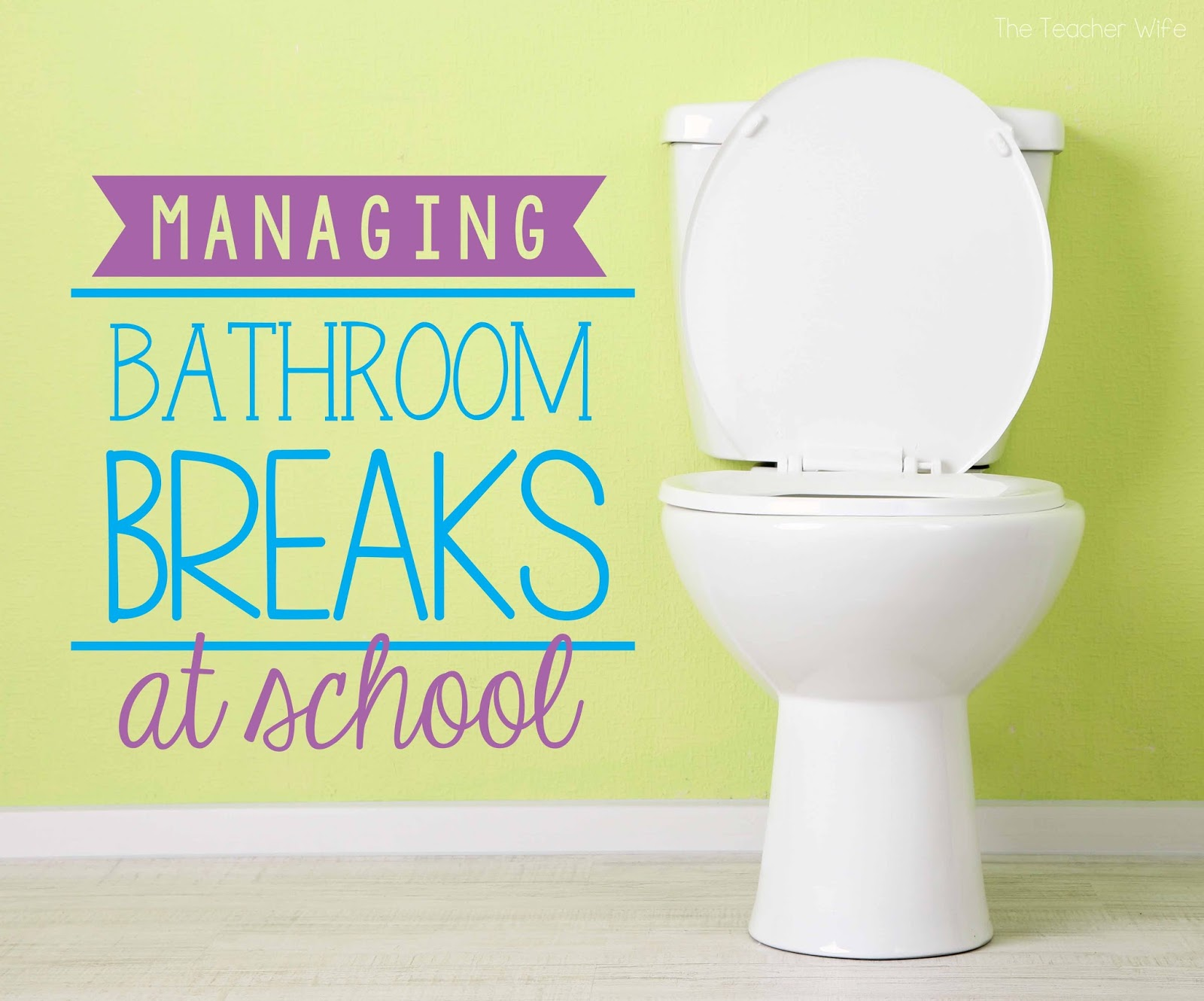 How to use the bathroom com - Managing Bathroom Breaks Can Be Tricky If You Teach Younger Grades Then You Know That Kids Pretty Much Have To Go To The Bathroom All The Time