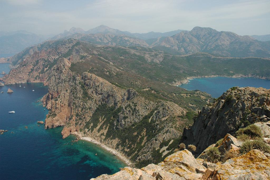 Coast around Campomoro - Corsica   Corsica, Beautiful