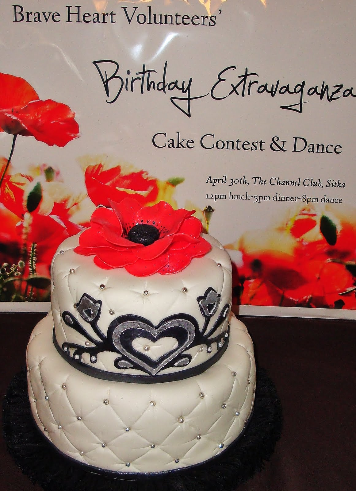 Twinflower sugar craft quilted decadence come to the channel club tonight and support a great organization sciox Images