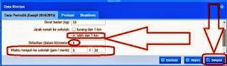 Panduan Mengisi Waktu Tempuh Agar Valid Aplikasi Dapodikdas 2014