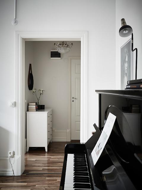 Charming Swedish Apartment