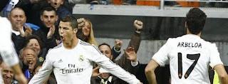 Cristiano Ronaldo celebra