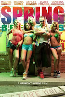 spring breakers james franco vanessa hudgens poster