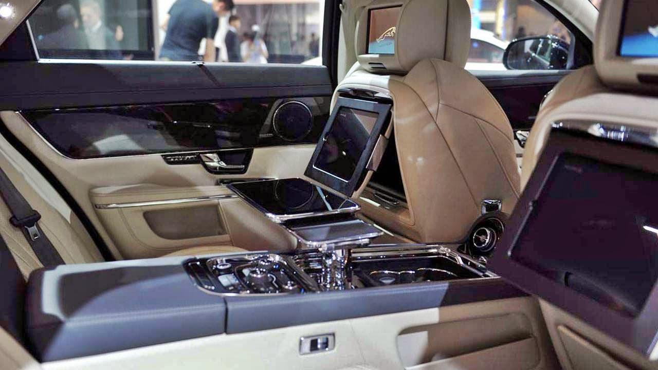 Jaguar XF 2014 Interior wallpapers
