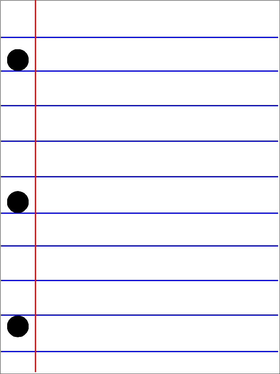 School Lined Paper Journal Card Printables – Vertical Lined Paper