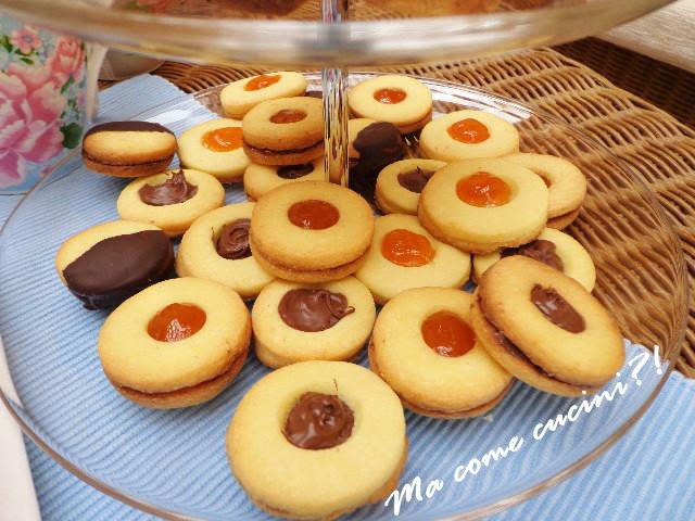 froliini con tuorlo sodo marmellata e nutella