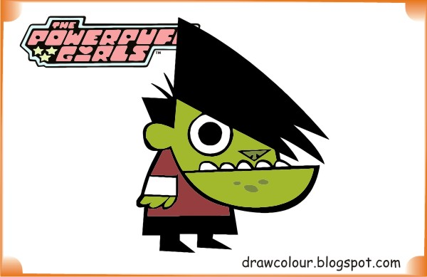 the_powerpuff_girls-ganggreen-coloring-pages