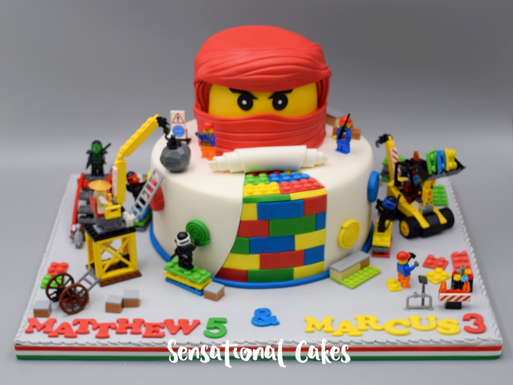 The Sensational Cakes Lego Ninjago Inspired Boy Birthday