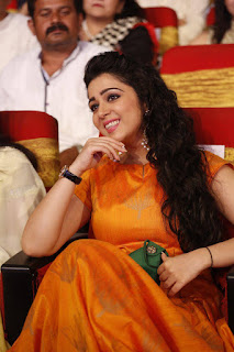 Actress Charmi Latest Hd Photos | TSR TV9 National Film Awards 2015