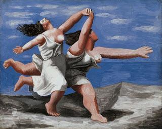 Mujeres en la playa - Pablo R. Picasso