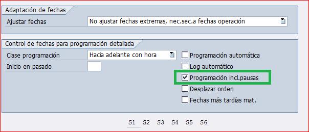 Programacion incluida pausas