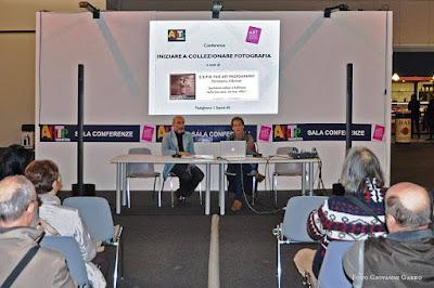 Conferenza collezionismo fotografia, Capsoni, Monnecchi