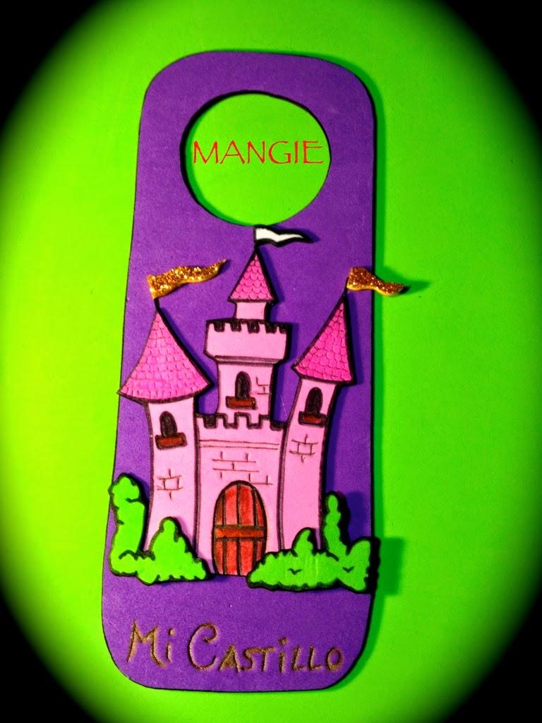 Colgador puerta castillo