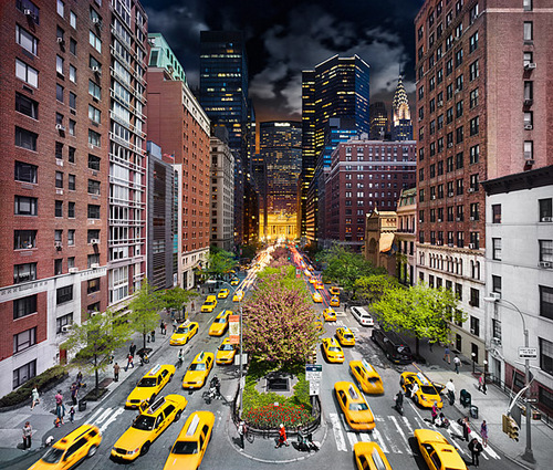 08-Stephen-Wilkes-day-to-night-fine-art-photography-Park-Avenue-NYC