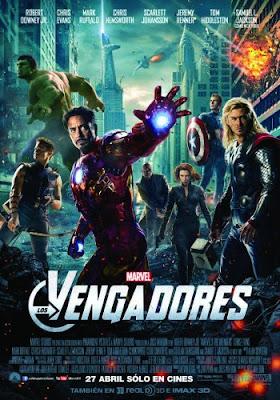 Cartel de la película 'Los Vengadores'