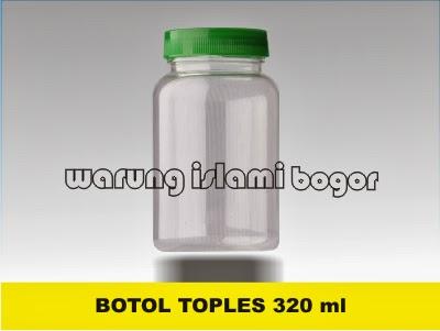 Jual Jar Toples Plastik Bulat
