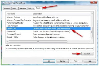Cara menonaktifkan UAC (user account control) windows vista