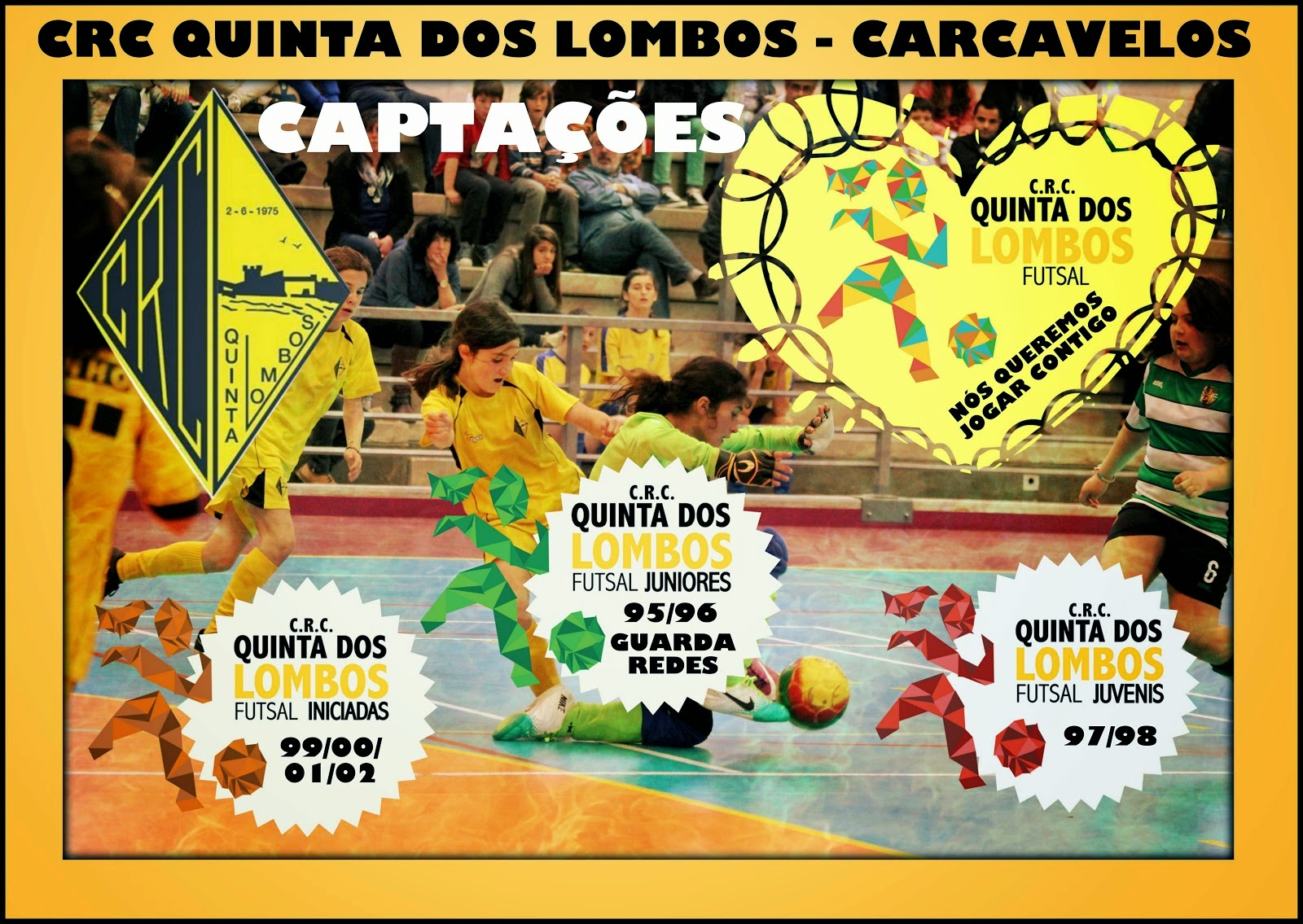 CAPTAÇÕES 2014-2015